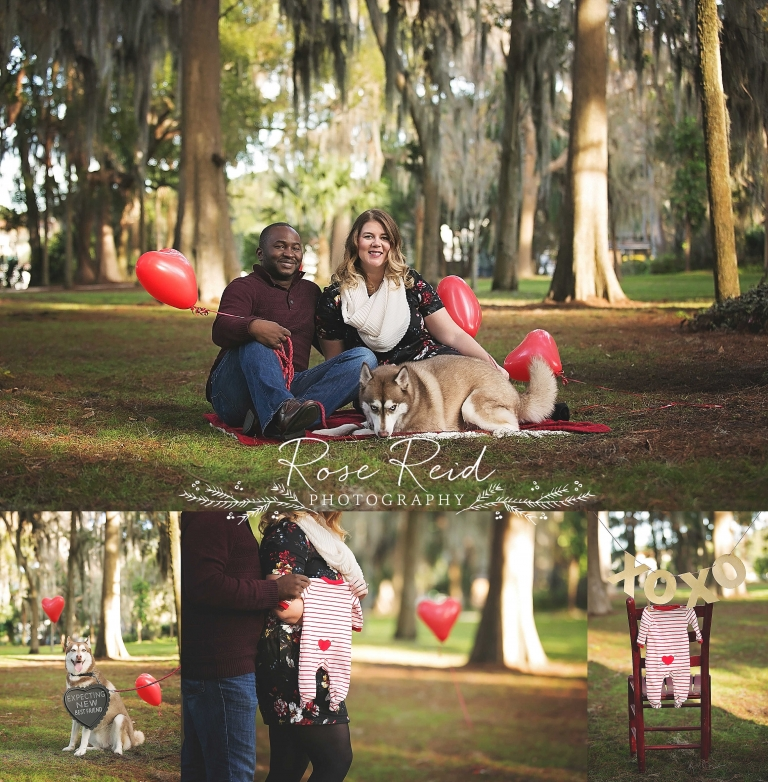 valentines day pregnancy announcement orlando - Valentines Day Orlando